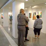 Hodgepodge exhibition by Justin Earl Grant Espacio de Arte UCEMA, Buenos Aires, Argentina. 2013