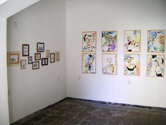 Cuatro Veces Yo. Exhibition Galería Sin Nombre, Montevideo, Uruguay, 2015.