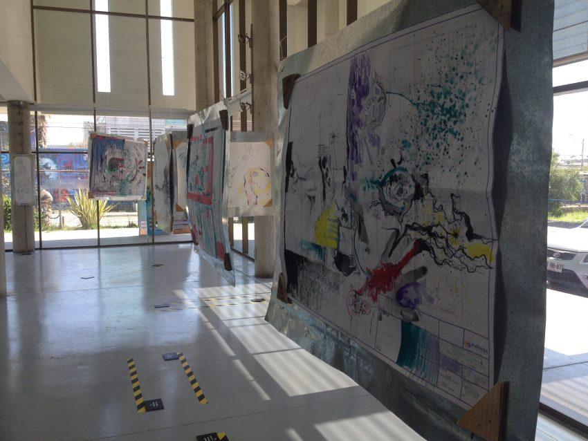 Gentle Terrorist - Project by Justin Earl Grant Exhibition: Corporación Cultural de Recoleta Santiago de Chile 2015